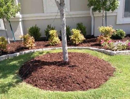 Flowerbed Mulch