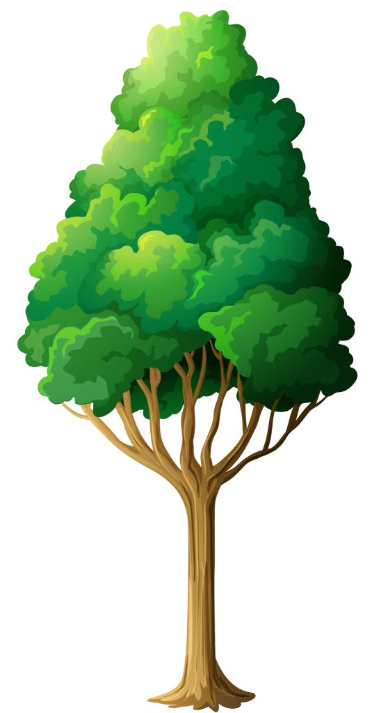 Green Tree Png Clipart 375836830